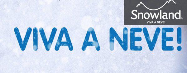 Ingressos Snowland em Gramado RS
